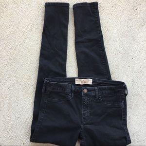 Hollister Black Super Skinny Stretch Jeans 29/30